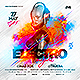 Electro Night Dj Party Flyer - GraphicRiver Item for Sale