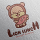 Lion Lunch Logo Design - GraphicRiver Item for Sale