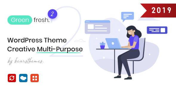 GreenFresh - Creative Multiuse WordPress Theme - Creative WordPress