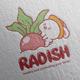 Radish Logo Design - GraphicRiver Item for Sale