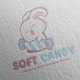 Soft Candy Logo Design - GraphicRiver Item for Sale