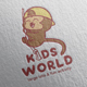 Kids World Logo Design - GraphicRiver Item for Sale