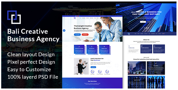 Bali - Creative Business Agency - Business Corporate