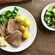 Boiled beef with potatoes and horseradish - PhotoDune Item for Sale