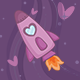 Space Love Flyer - GraphicRiver Item for Sale