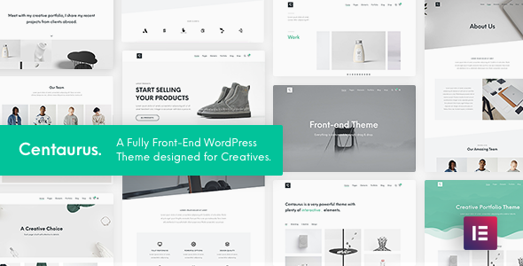 Centaurus - Creative Multi-Purpose WordPress Theme - Portfolio Creative