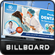 Dental Billboard Template - GraphicRiver Item for Sale