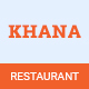 KHANA- One Page Restaurant HTML5 Template - ThemeForest Item for Sale
