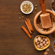 Mulled wine spices set mockup, top view - PhotoDune Item for Sale
