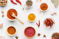Hot spices concept, top view - PhotoDune Item for Sale