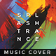 Splash Trance - Music Album Cover Artwork - GraphicRiver Item for Sale