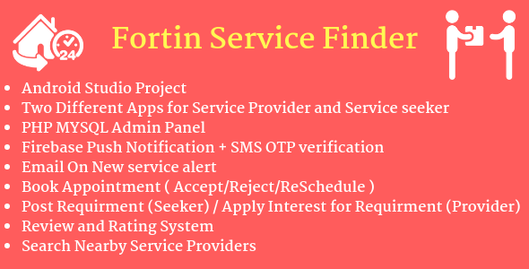 Fortin Service Finder (Marketplace) - CodeCanyon Item for Sale