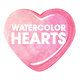 Watercolor Hearts Collection