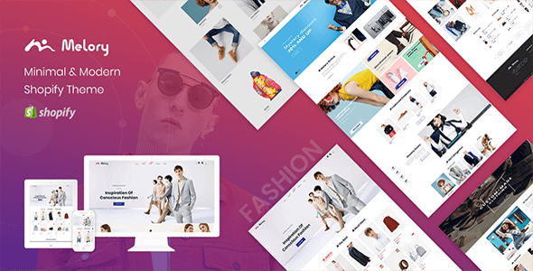 Melory - Minimal Shopify Theme for Fashion Stores, Clothes & Accessories
