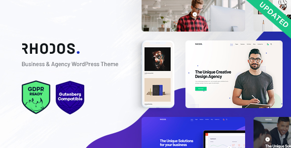 Rhodos - A Colossal Multipurpose WordPress Theme for Business Portfolio