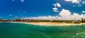 Aerial panoramic images of Dicky Beach, Caloundra, Australia - PhotoDune Item for Sale