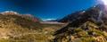Blue Lakes and mountains on the Tasman Valley Walk and Tasman Gl - PhotoDune Item for Sale
