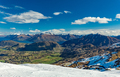 New Zealand mountain panorama and ski slopes as seen from Corone - PhotoDune Item for Sale