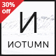 Notumn - Responsive Modern Minimalistic Blog - ThemeForest Item for Sale