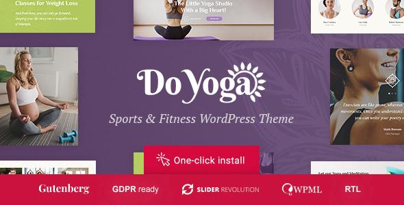 Do Yoga Fitness Studio Pilates Club Wordpress Theme By Cmsmasters