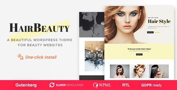 Hair Beauty - Hairdresser, Barber and Hair Salon WordPress Theme - Health & Beauty Retail