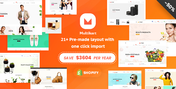 Multikart - Multipurpose Shopify Sections Theme - Shopify eCommerce