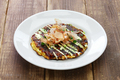 okonomiyaki, japanese savory pancake - PhotoDune Item for Sale