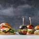 Homemade burgers variety - PhotoDune Item for Sale