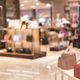 Abstract blurred background of interior handbags store at Shopping Mall - PhotoDune Item for Sale