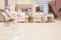 Abstract blurred image of cosmetics department in the mall - PhotoDune Item for Sale