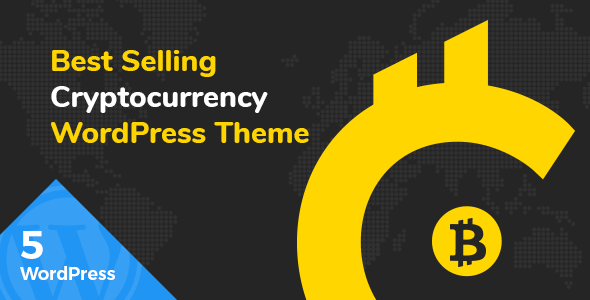 Cryptic - Cryptocurrency WordPress Theme