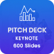 Bundle 2 in 1 Startup Pitch Deck Keynote Template - GraphicRiver Item for Sale