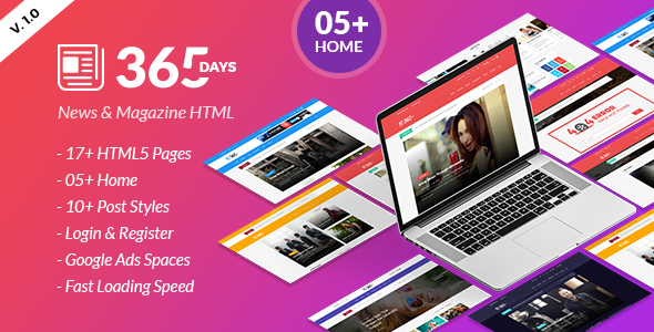 The Daily - News HTML Template - 8