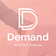 Demand Management Pitch Deck Keynote Template - GraphicRiver Item for Sale