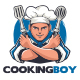Cooking Boy Logo Template - GraphicRiver Item for Sale