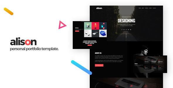 Alison - Portfolio HTML Template