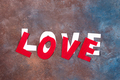 Word Love on a stone background. Valentine's Day - PhotoDune Item for Sale