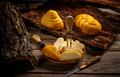 Variety of smoked braided cheese - PhotoDune Item for Sale