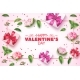 Vector Valentine Day Rose Flower Present Box - GraphicRiver Item for Sale
