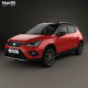 Seat Arona FR 2017 - 3DOcean Item for Sale