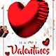 Happy Valentines 2019 Flyer Template - GraphicRiver Item for Sale