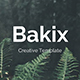 Bakix Premium Powerpoint Template - GraphicRiver Item for Sale