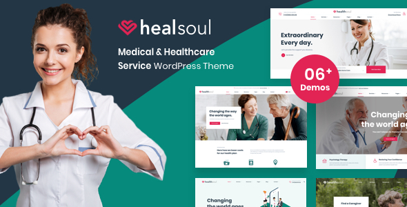 Healsoul - Medical Care, Home Healthcare Service WordPress Theme