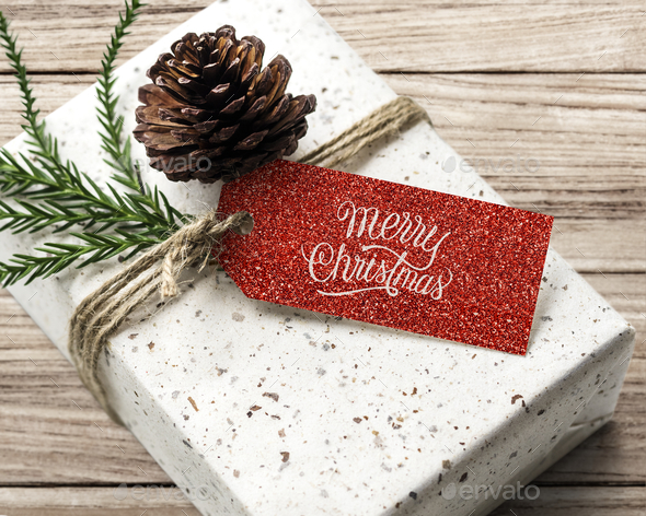Christmas present boxes - Stock Photo - Images