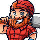 Friendly Lumberjack Vector - GraphicRiver Item for Sale