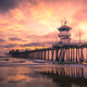 Huntington Beach Pier at Sunset, Los Angeles, California - PhotoDune Item for Sale