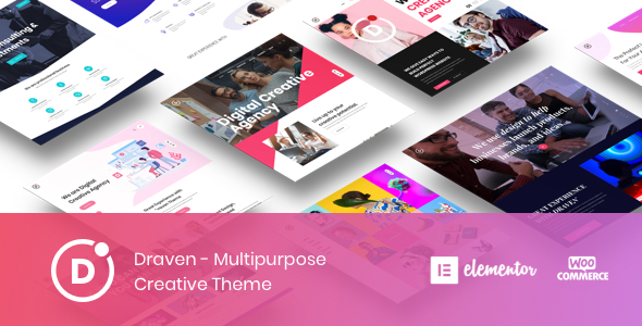 Draven Multipurpose Creative Theme