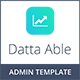 Datta Able Bootstrap Admin Template - ThemeForest Item for Sale