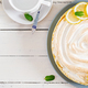 Tart with lemon curd  and meringue. Lemon  pie. American cuisine - PhotoDune Item for Sale