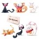 Cat Illustrations - GraphicRiver Item for Sale